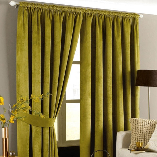 High Shading Velvet Curtain