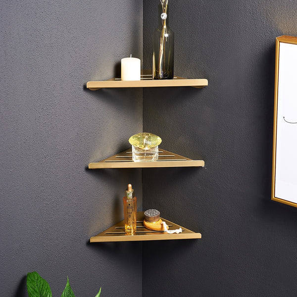 Modern Triangle Organizer Shelf