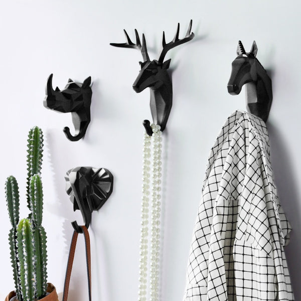 Modern Animal Hanging Coat Hooks