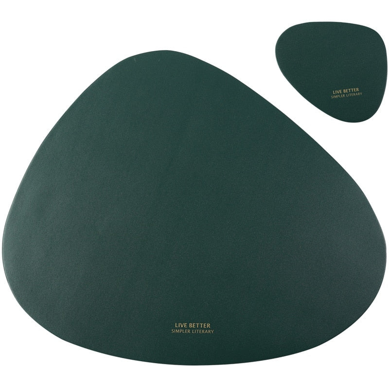 Tableware Heat Insulation Leather Pad