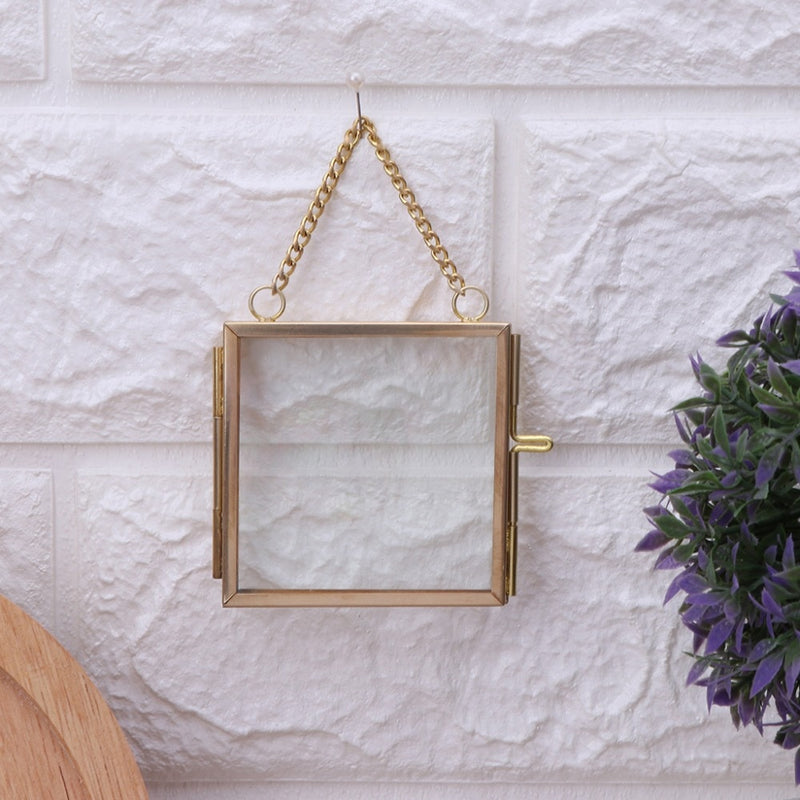 Antique Hanging Picture Frame