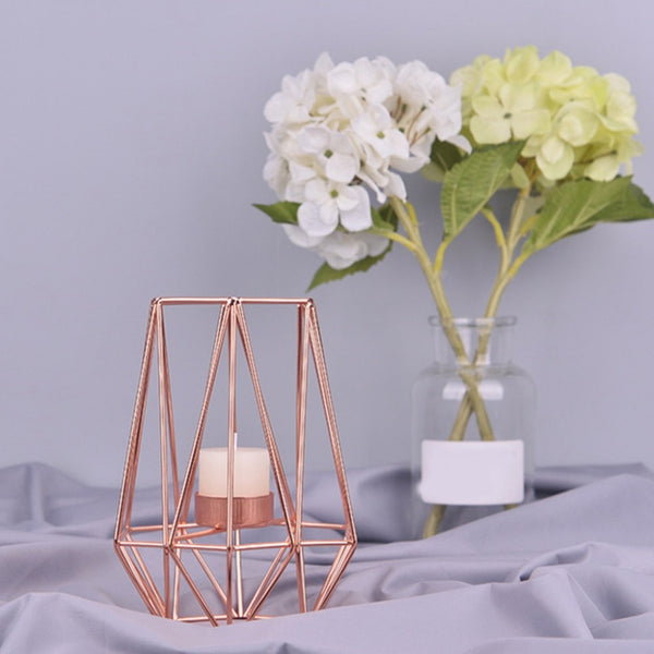 Modern Art Geometric Candle Holder