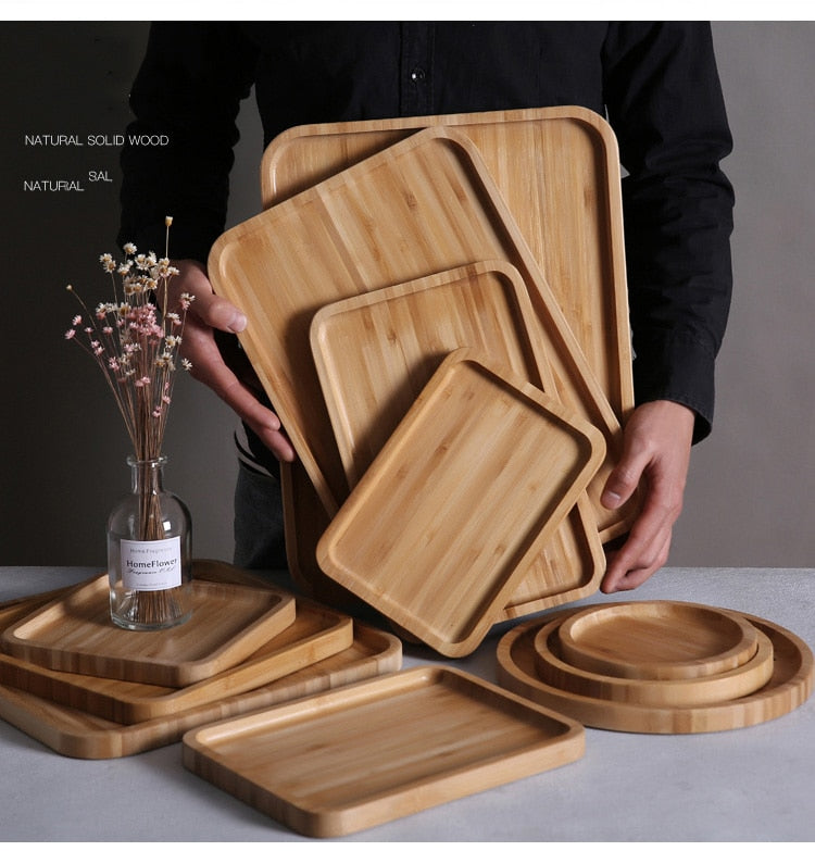 Wooden Dishes & Plates