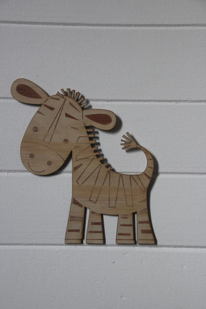 Laser Cut Baby African Animals