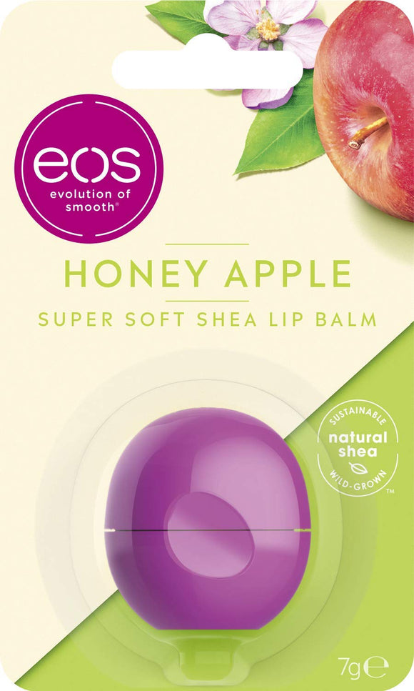 eos Flavor Honey Apple Lip Balm Sphere, 7g