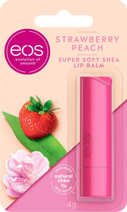 eos Flavor Strawberry Peach Lip Balm Stick, 7g