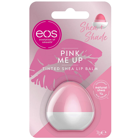 eos Shea + Shade Pink Me Up Lip Balm Sphere, 7g