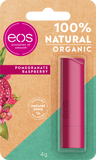 eos Organic Pomegranate Raspberry Lip Balm Stick, 4g