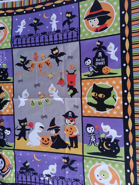 Riley Blake Too Cute to spook, QUILT, 0,5m