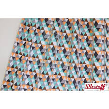 Summersweat, Lillestoff, TRIANGLE in Mint 0,25m