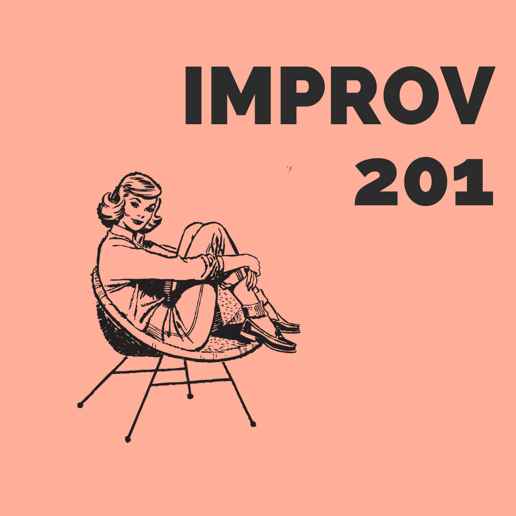 IMPROV 201: STARTING 18TH JUNE