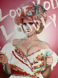 Signed Love You Loudly Poster 16x9