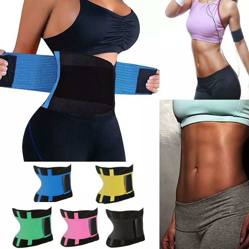 86972344915fa Women Waist Trainer Belt Belly Band Belts Hot Body Shaper After Birth Slim  Belt Corset Postpartum Tummy Trimmer Body Fat Burn