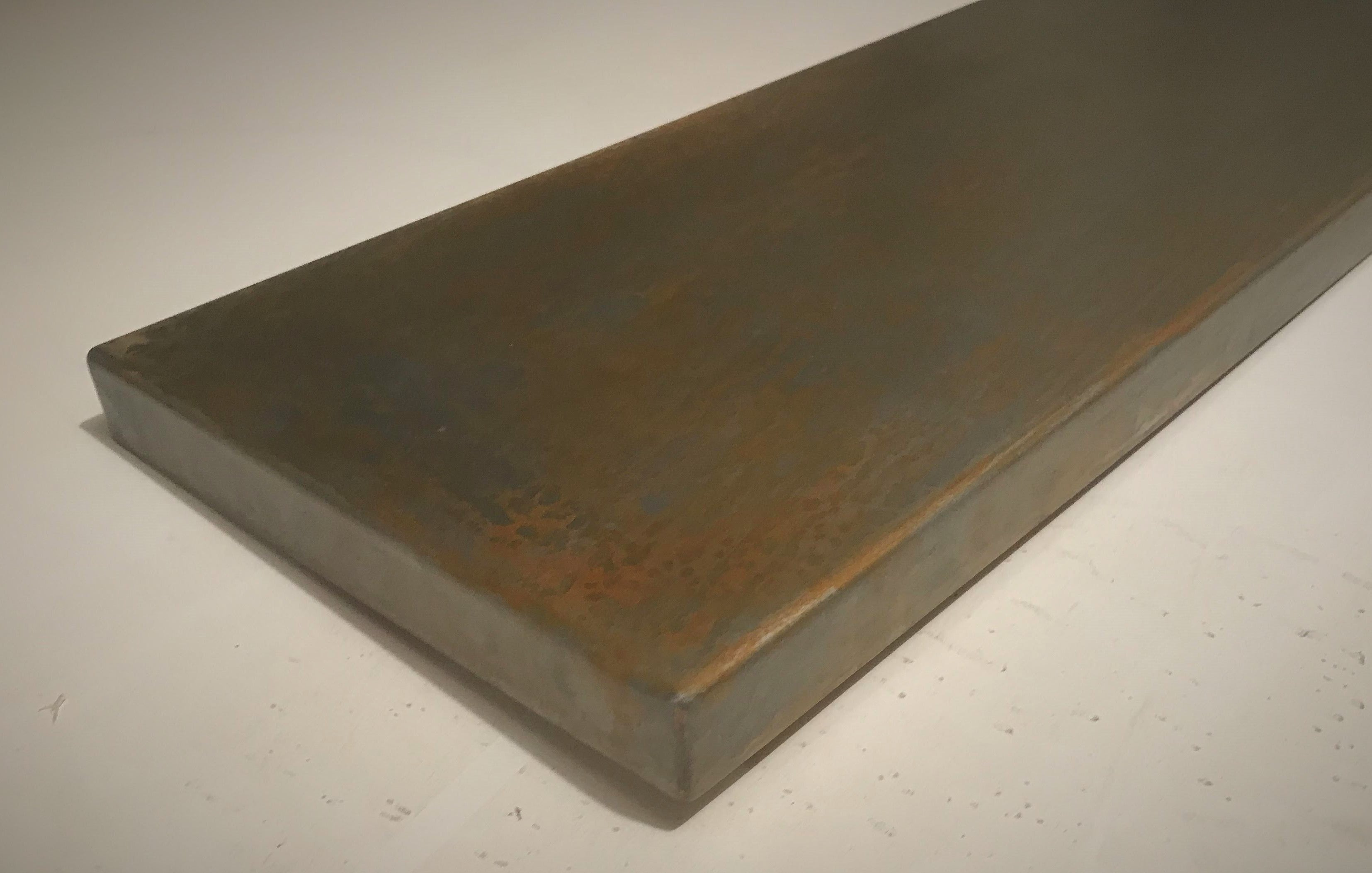 countertop mobile steel station fire countertops s project for rick stainless welding