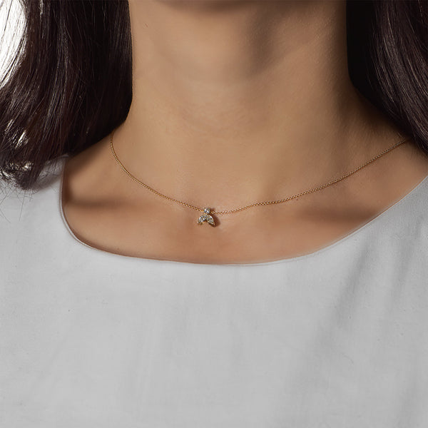 Collier Solitaire Athéna  CH-146
