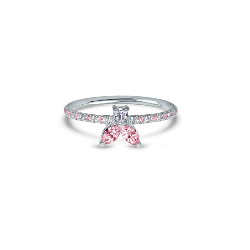 The Fancy Little Bee Pink Sapphire