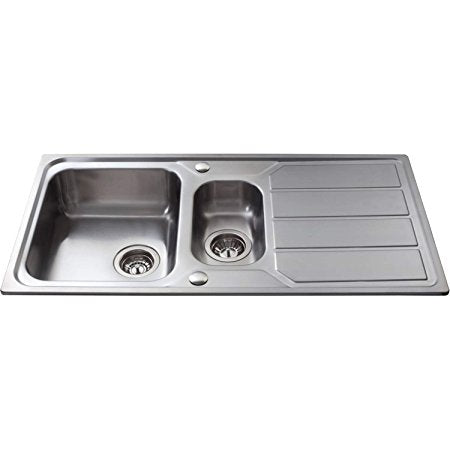 KA32 - Stainless Steel One and a Half Bowl Sink