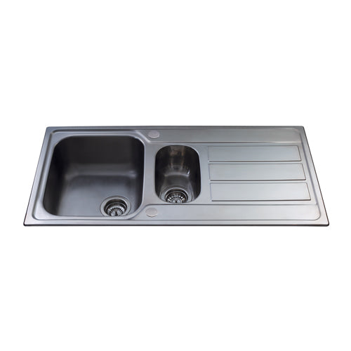 KA52 - Stainless Steel Bowl and a half Sink