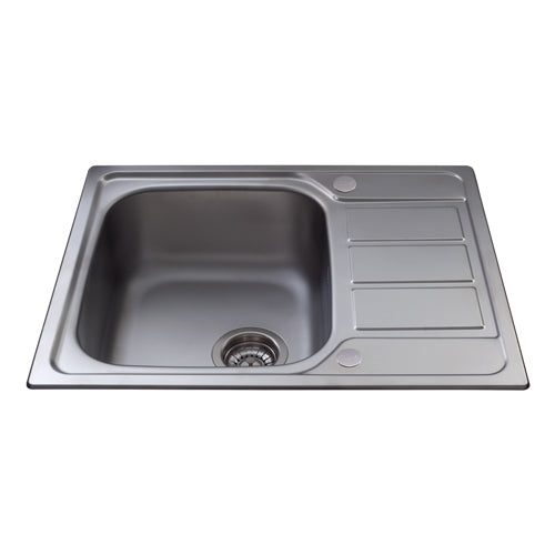 KA55 - Stainless Steel Compact Single Bowl Sink