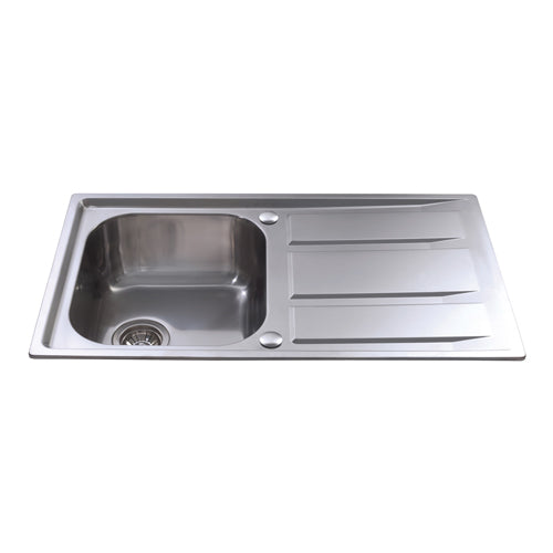 KA80 - Stainless Steel Single Bowl
