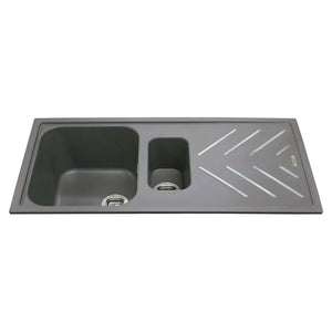 KG82 - Composite One and a Half Bowl Sink