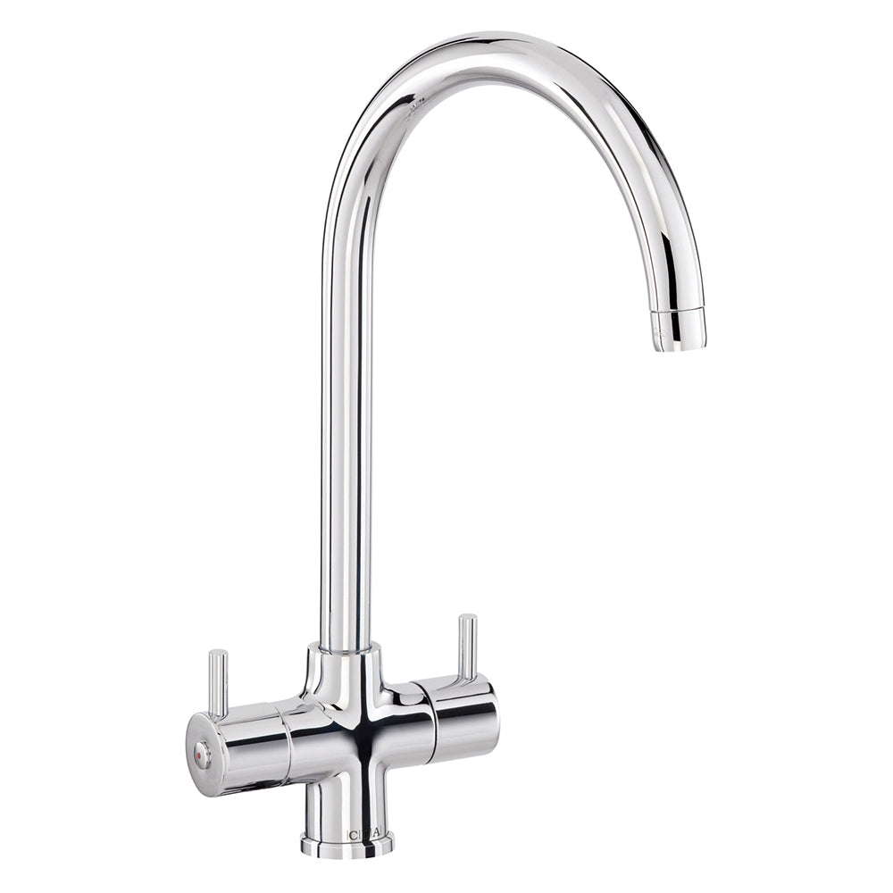 TF55 Monobloc Filter Tap with Swan Neck Spout