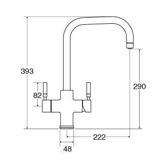 TH101 3 in 1 Instant Hot Water Tap