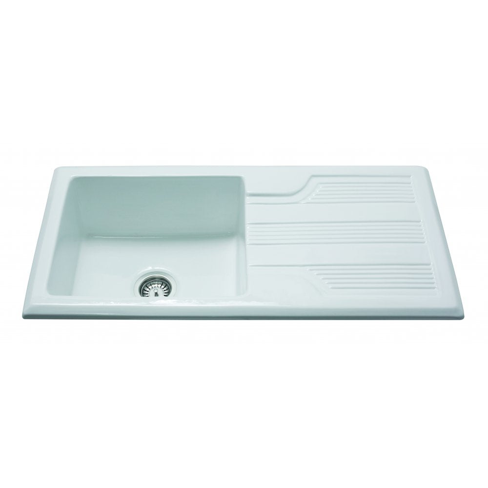 KC23 Ceramic Single Bowl Sink