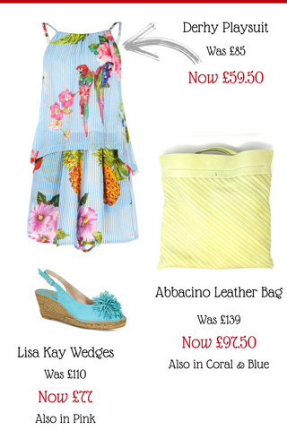 The N.Shelley summer sale now on 30% off derhy, bags, shoes lisa kay abbacino playsuit summer dress