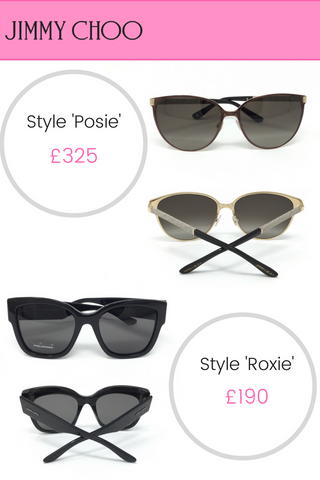 Jimmy Choo sunglasses designer sunglasses Posie Roxie
