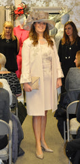 Linea Raffaelli pink dress and coat mother of the birde groom