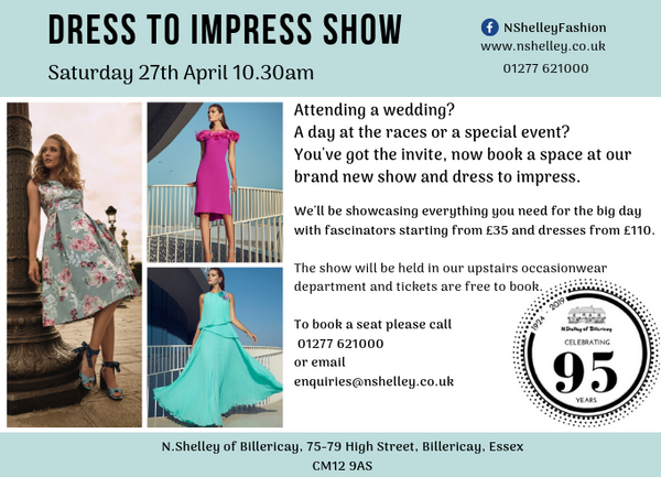 Dress to impress show ascot wedding special occasion show