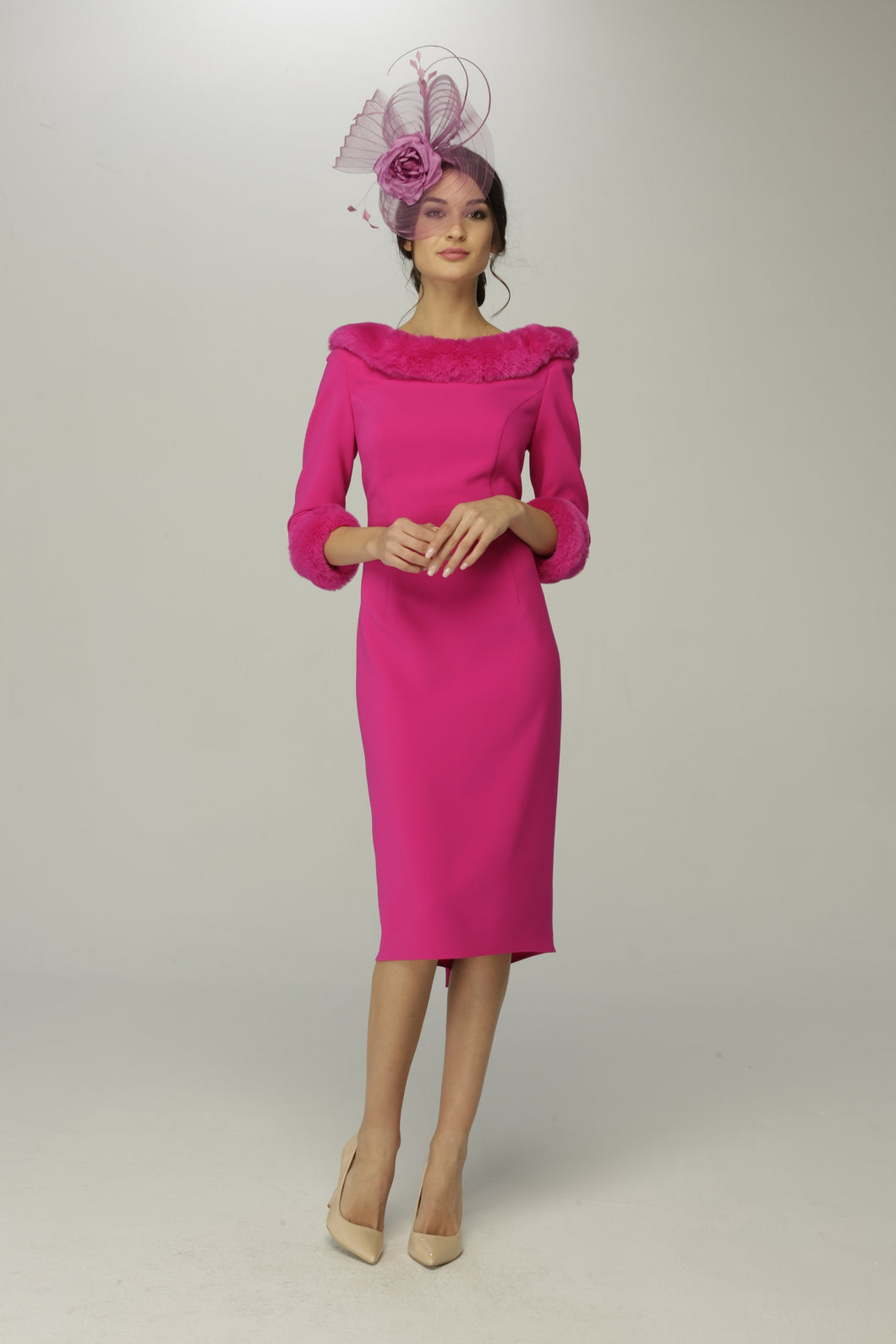 Giorgia Jo Dress 3400 OLIVIA FUSCHIA