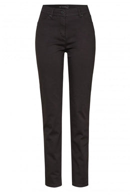 Toni Chocolate Brown Stretch Jeans