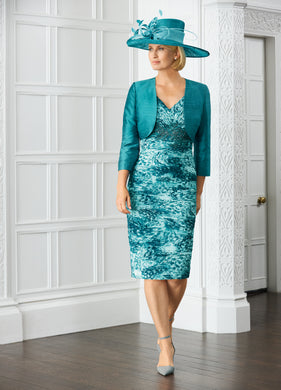 Condici 11370 CHEQUERS/RICH TURQUOISE - Available Now