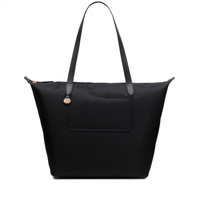 Radley Black Pockets Essentials Large Ziptop Tote