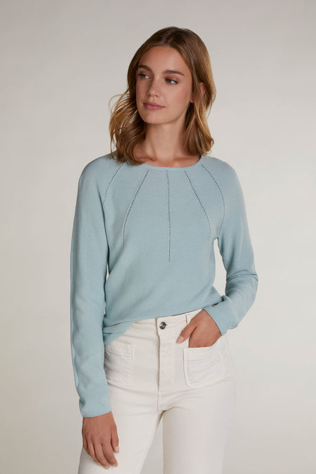 Oui Textured Sweater 70167