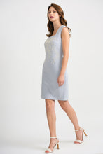Joseph Ribkoff Fitted Dress - Frost Grey - SS20 - 201218/201217