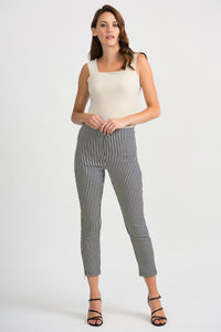 Joseph Ribkoff Stripe Trousers - Navy/White - SS20 - 201485