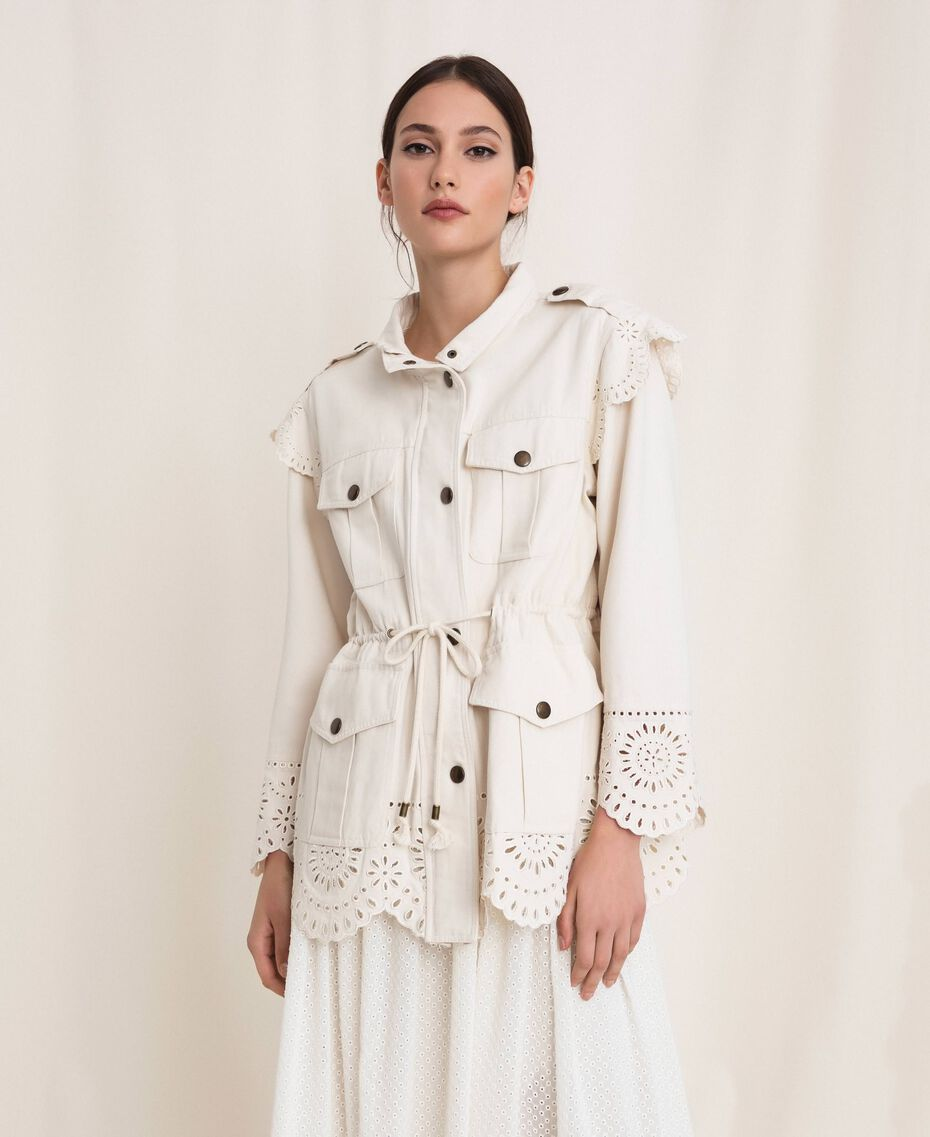 Twinset Safari Jacket 201TP2011 Cream