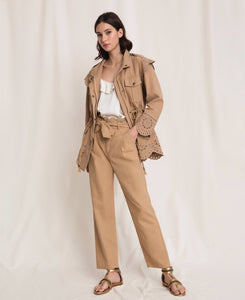 Twinset Safari Jacket 201TP2011 Tan SS20