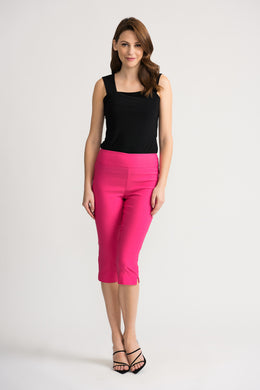 Joseph Ribkoff Cropped Trousers - 202350 - Bright Pink SS20
