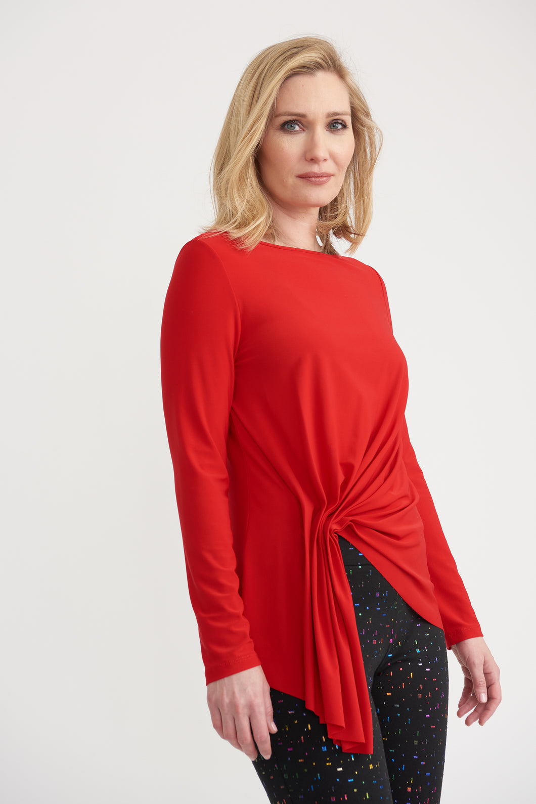Joseph Ribkoff Ruched Top
