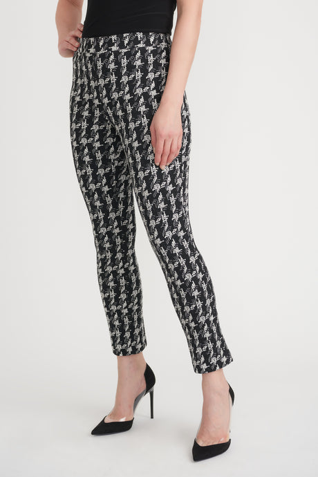 Joseph Ribkoff Check Trousers