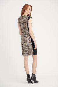 Joseph Ribkoff Lizard Print Dress 203643