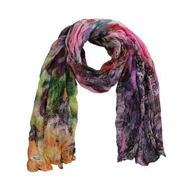 Dolcezza Abstract Scarf - 20901 - Pink/Purple