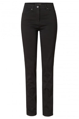 Toni Be Loved Black Satin Jeans