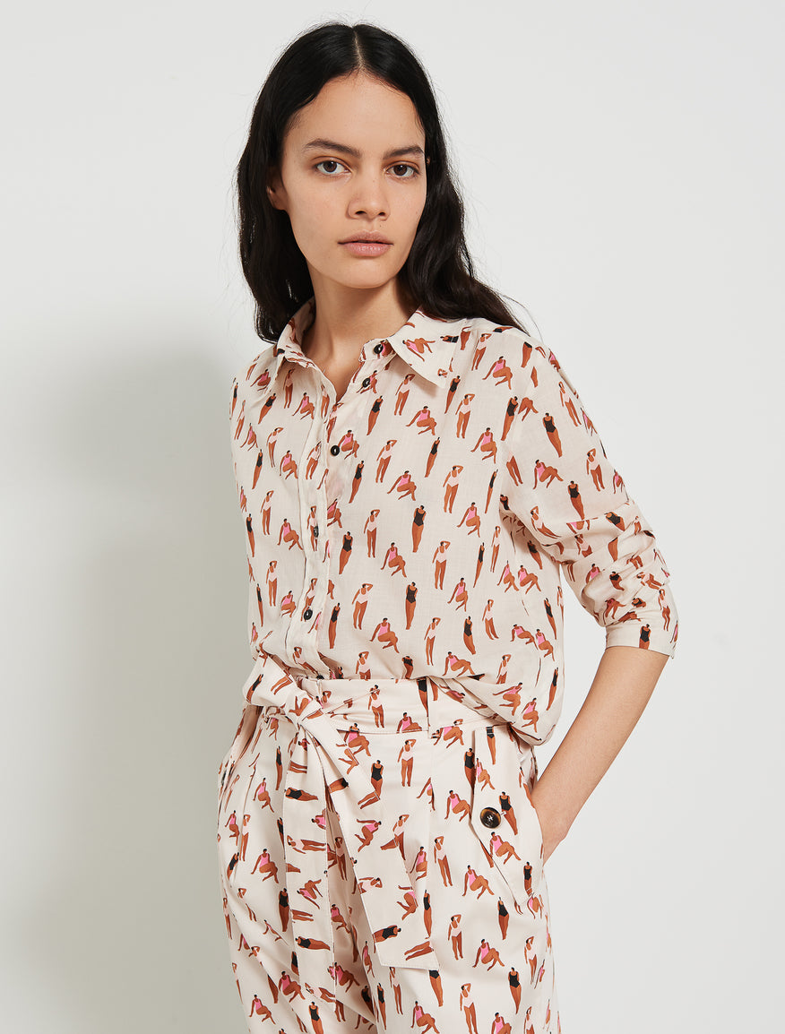 Marella Bathers Shirt Friend Cream