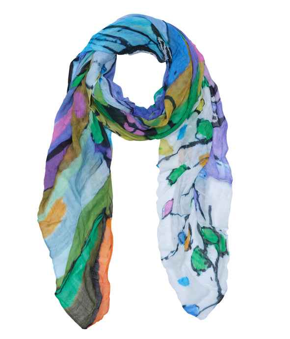 Dolcezza Abstract Print Scarf