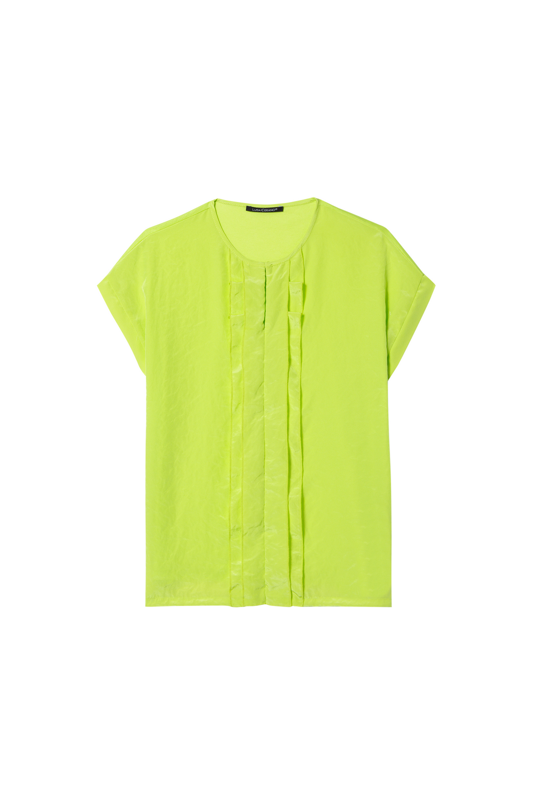 Luisa Cerano Blouse - Lime - 318580/7522
